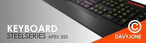 Keyboard SteelSeries Apex 350