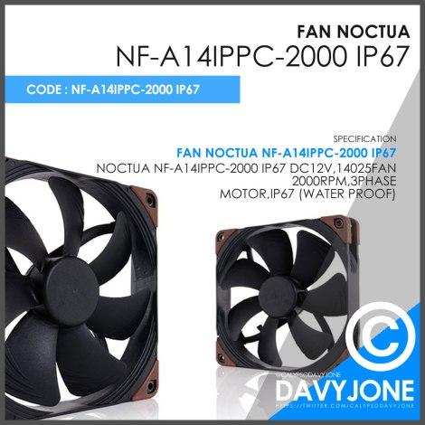 Fan Noctua NF-A14iPPC-2000 IP67
