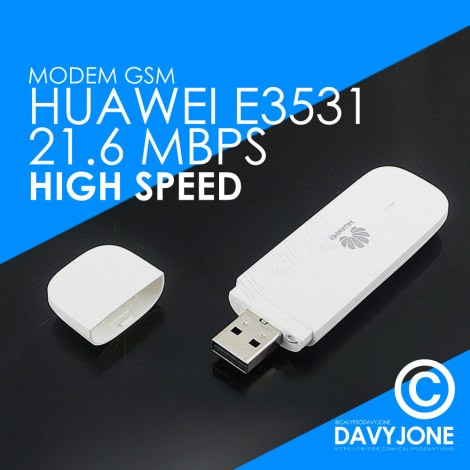 Modem GSM Huawei E3531 21.6 Mbps High Speed