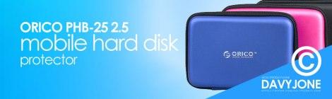 ORICO PHB-25 2.5 mobile hard disk protector